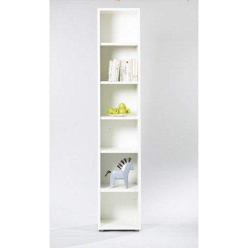 Tvilum Fairfax Tall Narrow Bookcase In Throughout 2018 Walmart White Bookcases (View 3 of 15)
