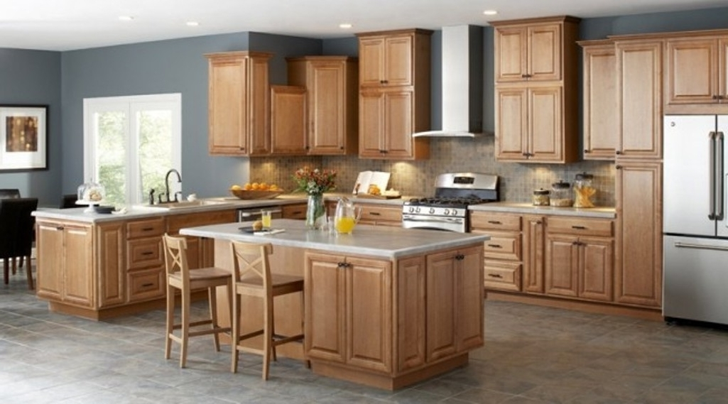 Unfinished Oak Kitchen Cupboards — Optimizing Home Decor Ideas Regarding Latest Oak Cupboards (View 14 of 15)