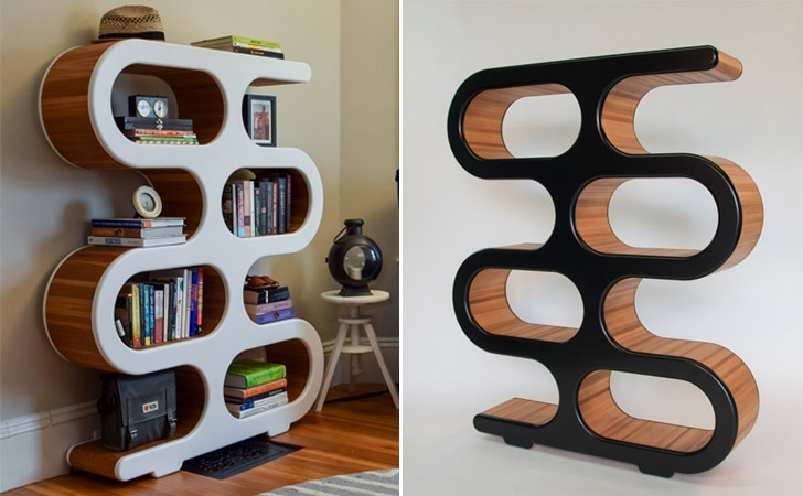 Unique Bookcases Regarding Most Current 40 Incredibly Cool Bookshelves That Are Unique – Awesome Stuff 365 (Gallery 14 of 15)