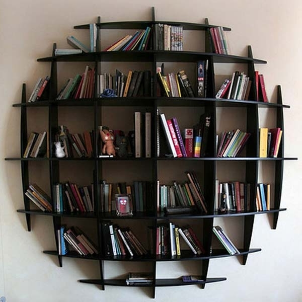 Unusual Bookcases In Newest Bookcases Ideas: Cool Home Bookcases – 10 Brilliant Bookcase (View 9 of 15)