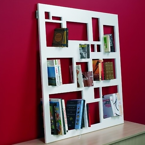 Unusual Bookcases With Preferred 15 Brilliant Bookshelves And Unusual Bookcases – Part  (View 12 of 15)