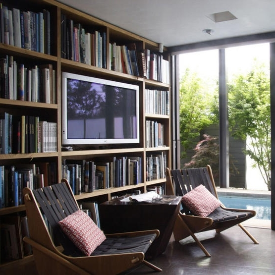 Unusual Ideas Tv Bookshelf Imposing 10 Best Images About Tv Setup With Regard To Favorite Tv Book Shelf (Gallery 15 of 15)