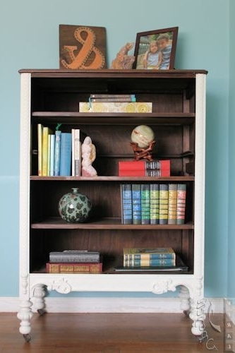 Upcycle & Repurpose A Dresser Into A Bookcase ~ Viral Upcycle Pertaining To Newest Repurpose Bookcases (View 12 of 15)