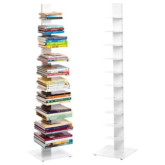 Vertical Bookshelf Throughout Tall Sapien Bookcases (Gallery 10 of 15)