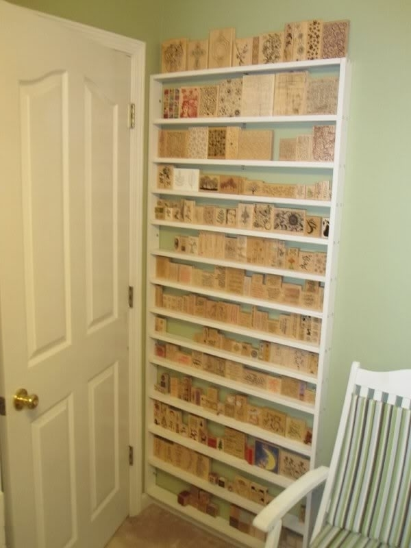 Very Narrow Shelving Unit Intended For 2018 9 Best Rubber Stamps Images On Pinterest (Gallery 11 of 15)