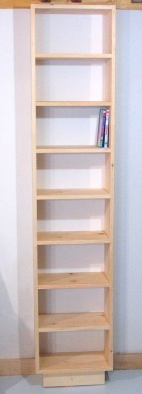 Very Narrow Shelving Unit With Regard To Favorite Narrow Bookcases – Foter (View 7 of 15)