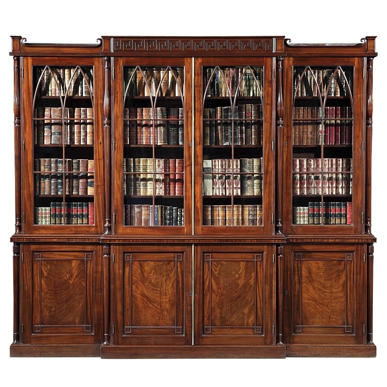 Vintage Bookcases In Well Known A Very Fine Antique Library Bookcase Gillows Of Lancaster At (View 10 of 15)