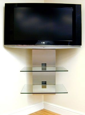 Wall Mount Tv Intended For Most Popular Tv Corner Shelf Unit (View 13 of 15)