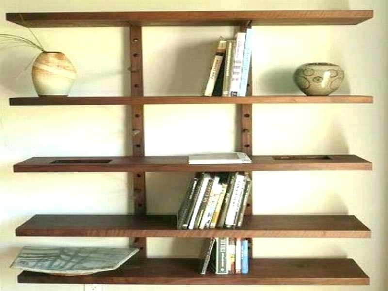 Wall Mount Wood Shelves Wall Mounted Wooden Corner Shelf Wall With Regard To Most Popular Wooden Wall Shelves (View 9 of 15)