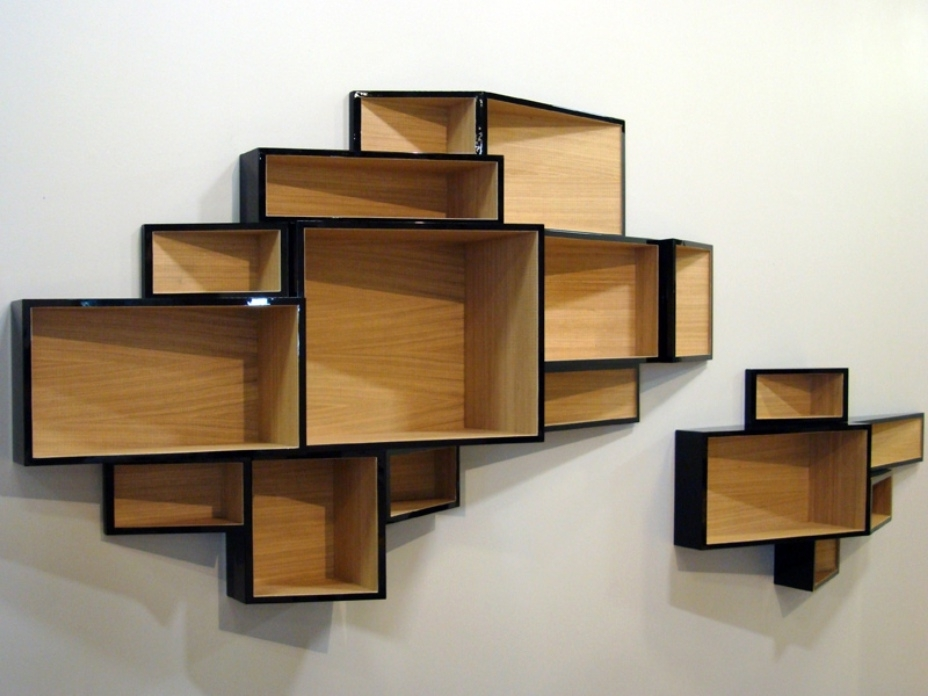 Wall Mounted Bookcases Intended For Widely Used Wall Mounted Bookcase With Doors : Doherty House – Wall Mounted (View 14 of 15)