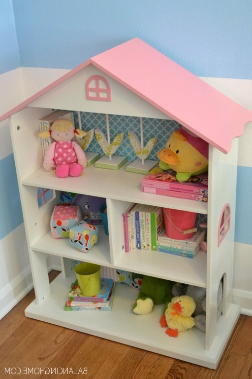 Wall Papers, Walls And Dollhouse Bookcase (View 12 of 15)