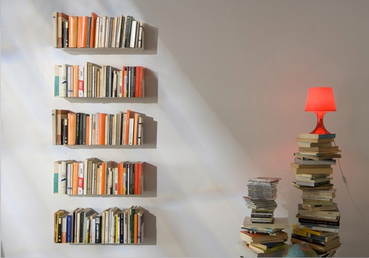 Wall Shelves And Bookshelves Design – Teebooks With Fashionable Floating Bookcases (View 5 of 15)