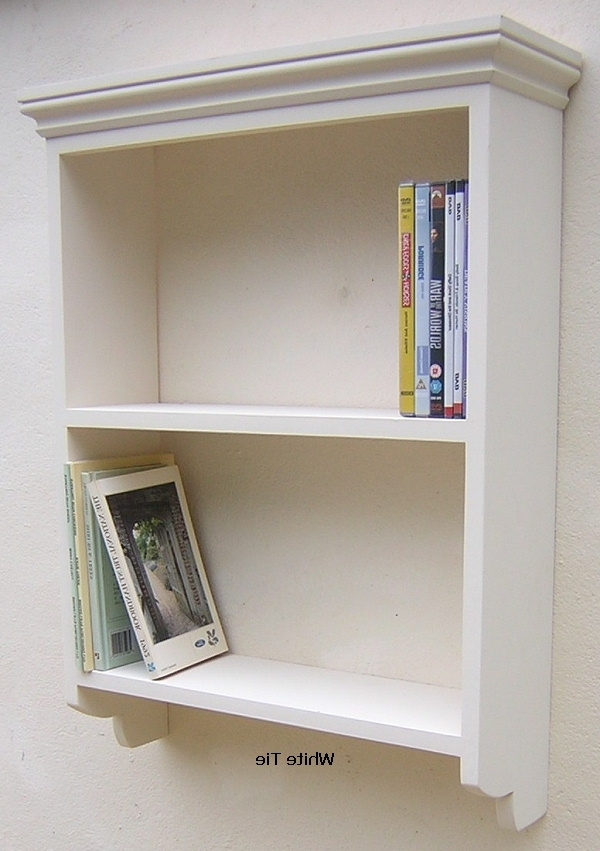 Wall Shelving Units Regarding Trendy Painted Pine Wall Unit Shelf With Open Back – Wall Units Design (View 12 of 15)