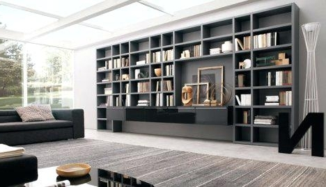 Wall To Wall Bookcases – Omaninsulttaanikunta For Famous Full Wall Bookcases (View 6 of 15)