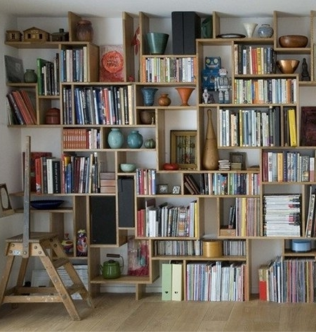 Wall To Wall Bookcases Pertaining To Current Building Wall To Wall Bookcases – Www (View 12 of 15)