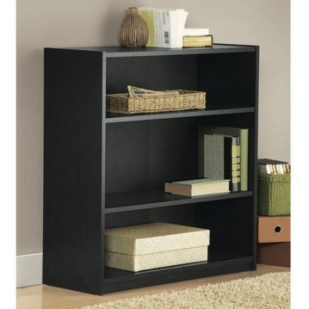 Featured Photo of Black Bookcases Walmart