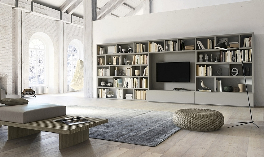 Wall Units: Interesting Wall Unit Book Shelves Building With Preferred Tv Bookshelves Unit (View 15 of 15)