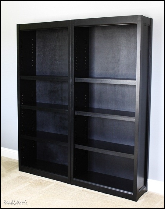Walmart White Bookcases Regarding Widely Used Making Walmart Bookshelves Look Like Crate & Barrel Shelves (View 11 of 15)