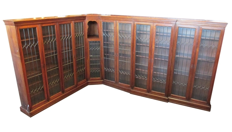 Walnut Bookcases Pertaining To Best And Newest Bookcases Archives – Wooden Nickel Antiques (View 13 of 15)