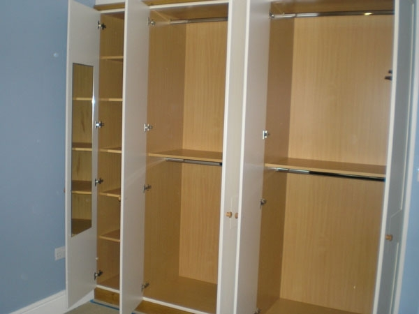 Wardrobe Double Hanging Rail Within Famous Wardrobe Interiors – Bespoke Bedroom Furnitue (View 13 of 15)
