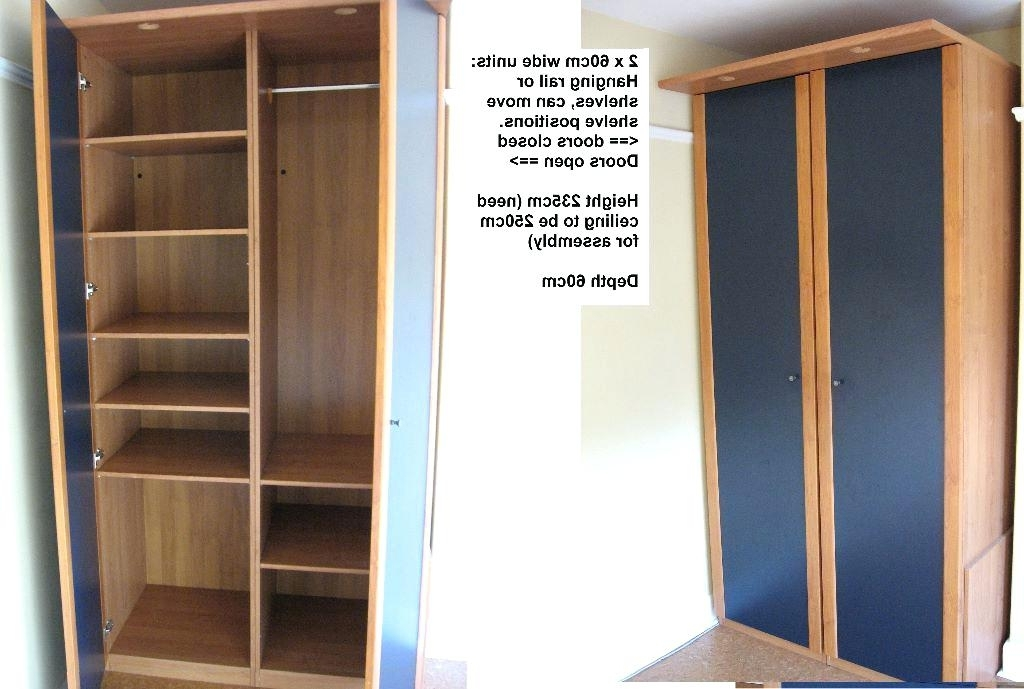 Wardrobe With Shelves Only Wardrobes In Good Condition Total Wide Regarding Well Liked Wardrobes With Shelves (View 8 of 15)
