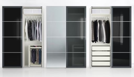 Wardrobes Drawers And Shelves Ikea For Trendy Sliding Wardrobe Frames (View 10 of 15)