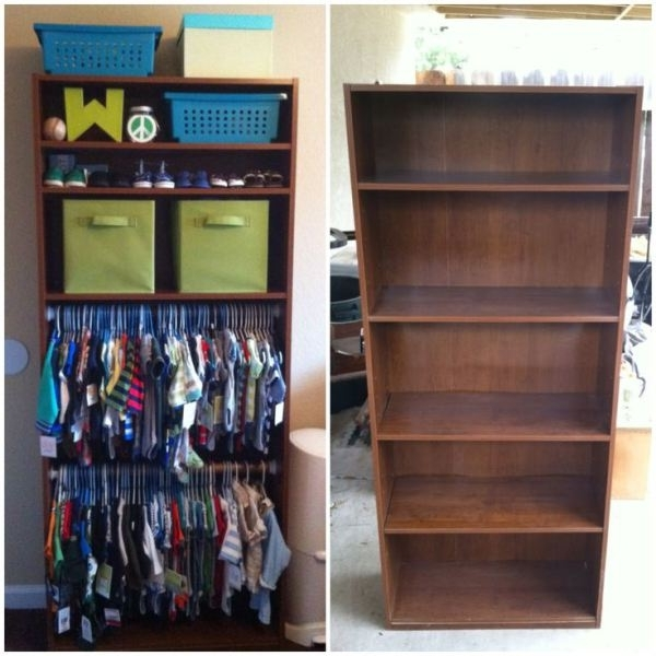 Wardrobes For Baby Clothes For Most Up To Date 15 Totally Genius Ways To Organize Baby Clothes (View 14 of 15)