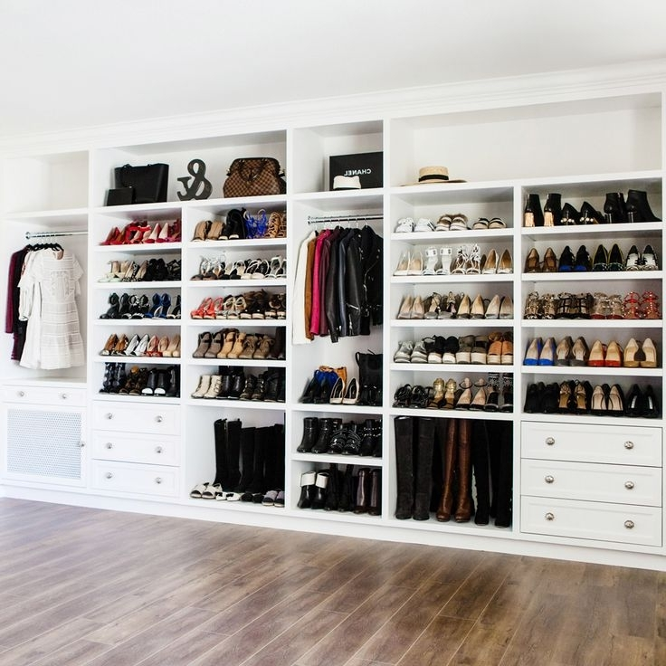 Wardrobes Shoe Storages With Regard To Preferred 205 Best Closet Ideas Images On Pinterest (View 12 of 15)