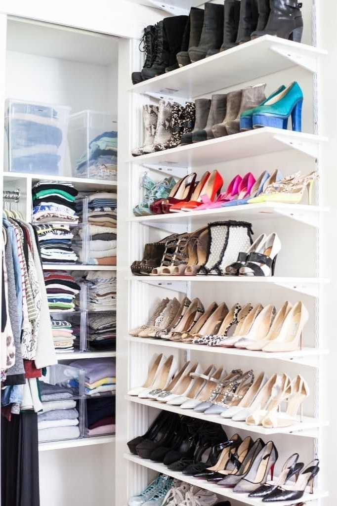 Wardrobes Shoe Storages With Regard To Well Known 19 Best Shoe Storage Images On Pinterest (View 10 of 15)