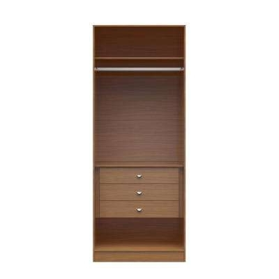 Wardrobes With Shelves Within Most Current Armoires & Wardrobes – Bedroom Furniture – The Home Depot (View 14 of 15)