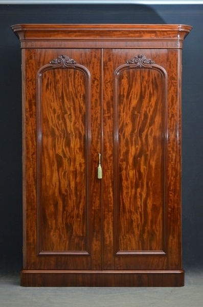 Wardrobes Wood England Victorian – The Uk's Premier Antiques Intended For Widely Used Victorian Breakfront Wardrobes (View 15 of 15)