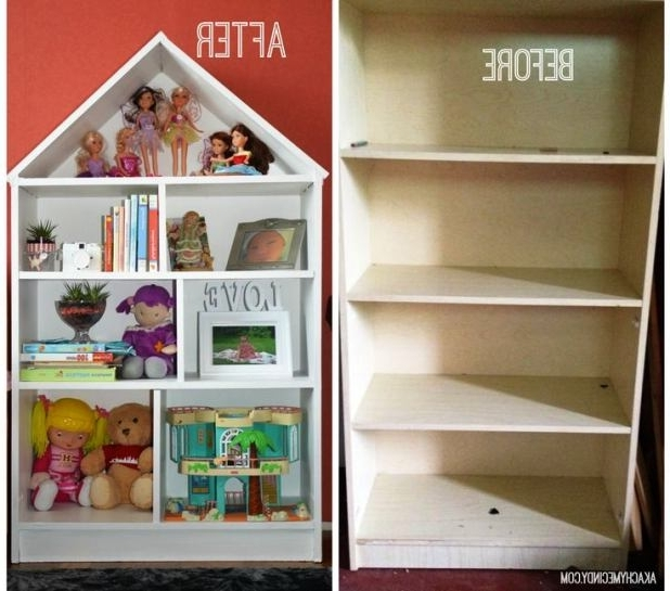 Wayzgoosedigitaldesign With Most Current Dollhouse Bookcases (View 13 of 15)
