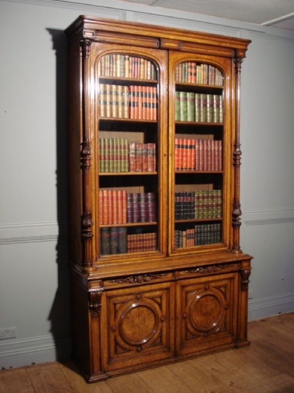 Well Known 19C Pollard Oak Library Bookcase – Antique Bookcases/cabinets With Regard To Oak Library Bookcases (View 14 of 15)