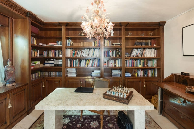 Well Known 27 Stunning Study Room Design Ideas (Photos) In Study Bookcases (View 15 of 15)