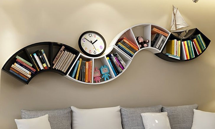 Well Known 40 Incredibly Cool Bookshelves That Are Unique – Awesome Stuff 365 In Unusual Bookcases (View 14 of 15)