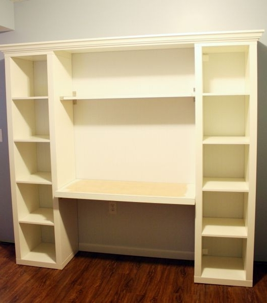 Well Known 45 Ikea Desk And Bookcase, Best 20 Bookshelf Desk Ideas On In Desk With Bookcases (View 13 of 15)