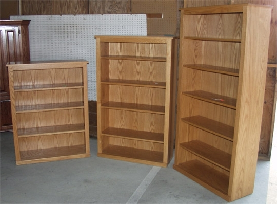 Featured Photo of Oak Bookshelves