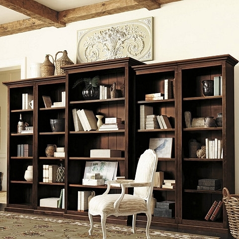 Well Known Bookcases For A Home Office: Traditional White Vs (View 15 of 15)