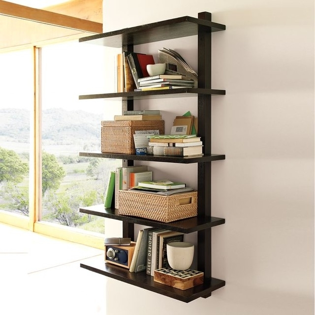 Well Known Bookcases Ideas: Bookcases And Bookshelves Shop The Best Deals For In Wall Mounted Bookcases (View 13 of 15)