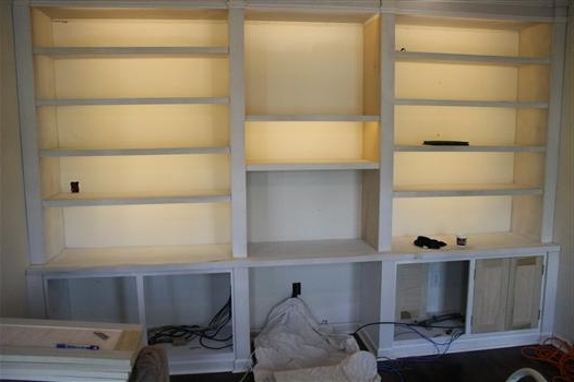 Well Known Bookcases Lighting With How To Install Inexpensive, Energy Efficient Under Cabinet Lighting (View 14 of 15)
