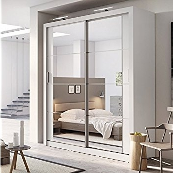 Well Known Brand New Modern Bedroom Mirror Sliding Door Wardrobe Arti 3 In With Regard To Sliding Door Wardrobes (View 15 of 15)