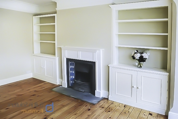 Well Known Built In Alcove Cupboards Storage For Your Living Room Within Handmade Cupboards (View 15 of 15)
