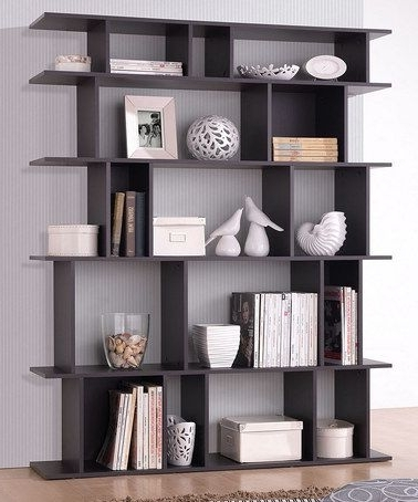 Well Known Contemporary Bookcases Pertaining To Contemporary Bookcases And Shelves Contemporary Bookshelves Modern (View 14 of 15)