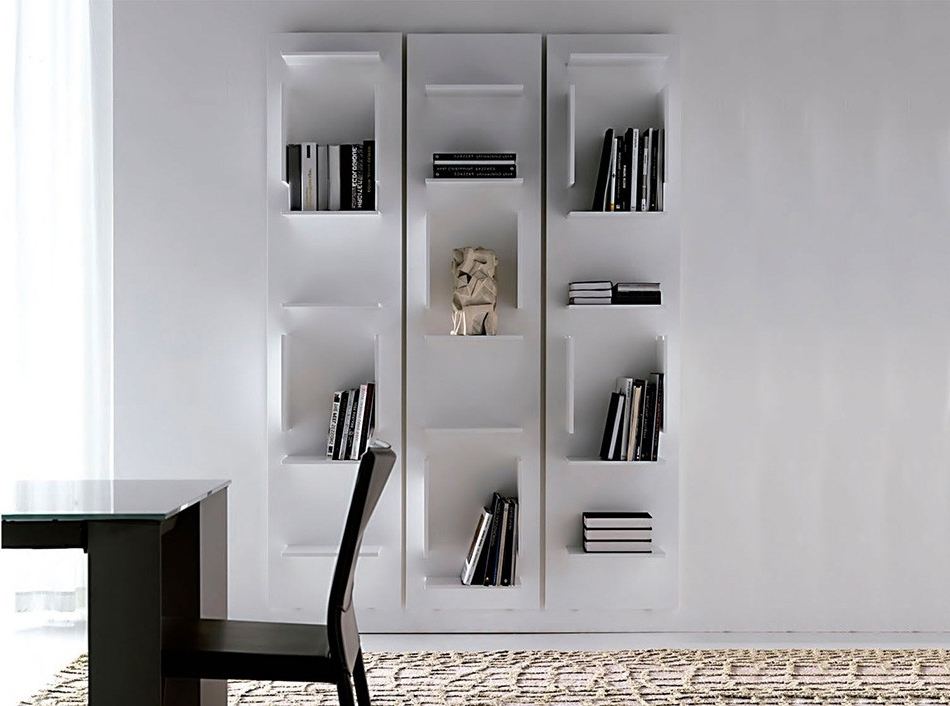 Well Known Fifty Modern Bookcasecattelan Italia – Bookshelves & Bookcases In Modern Bookcases (View 15 of 15)