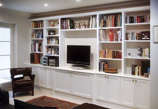 Well Known Fitted Furniture In Oxford Area Intended For Bespoke Bookcases (View 14 of 15)
