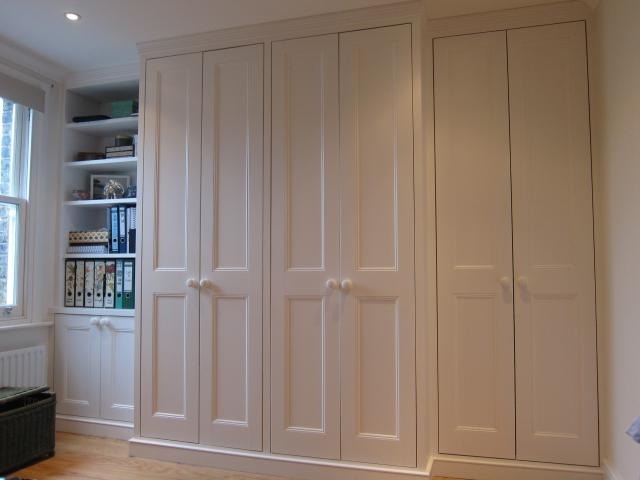 Well Known Fitted Wooden Wardrobes Inside James Carpentry (View 8 of 15)