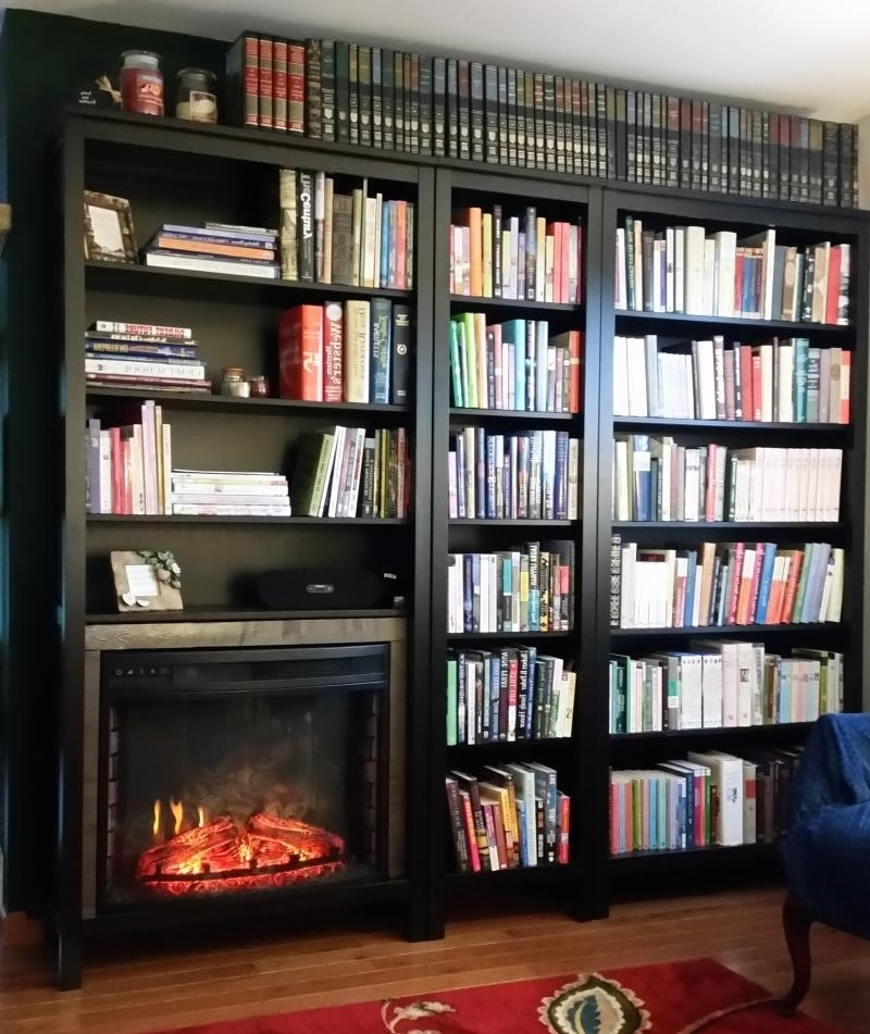 Well Known Hemnes Bookcases Throughout Bookshelf Or Fireplace? I Couldn't Decide (View 14 of 15)