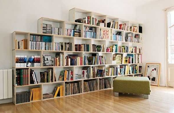 Well Known Home Library Shelving System For 25 Creative Book Storage Ideas And Home Library Designs (Gallery 6 of 15)