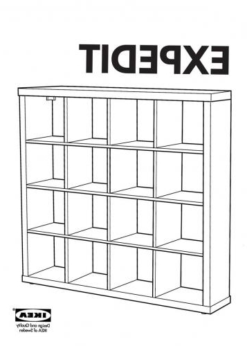 Well Known Ikea Expedit Bookcases Regarding Ikea Expedit Bookshelf – Germany (View 15 of 15)