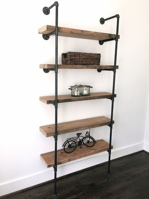 Well Known Industrial Bookcases Regarding Bookshelf (View 11 of 15)